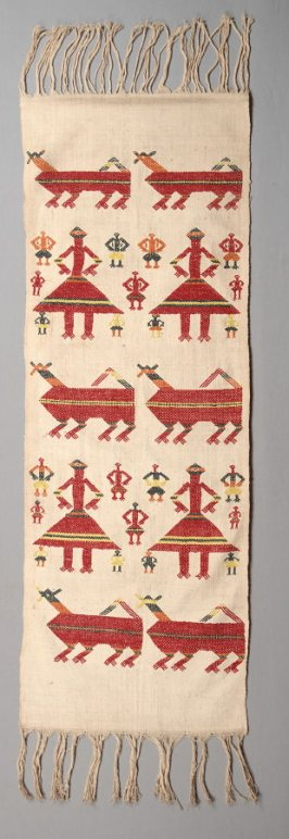 Tourist textile (tapestry)