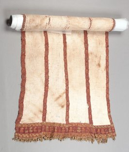 Burial cloth panel