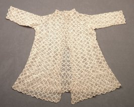 Child's braid and lace coat