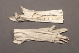 Two right-hand gloves