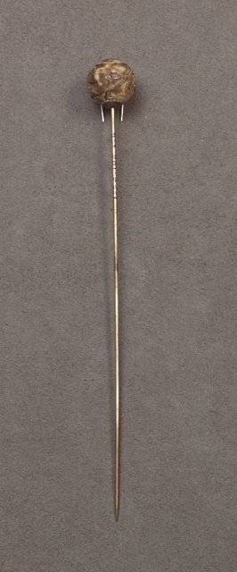 Veil pin or hatpin