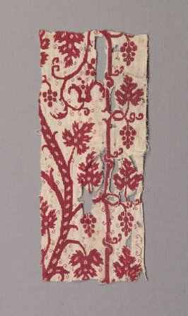 Panel: red and white