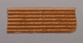 Fragment: yellow and mustard striped