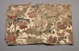 Panel leaves and flowers