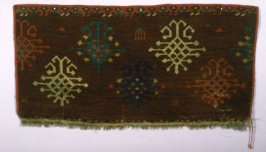 Fragment of a carpet border