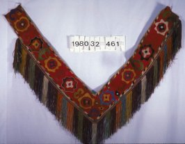 Embroidered sash