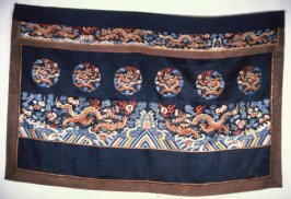 Fragment of a robe* with embroidery
