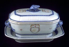 Tureen, lid and stand