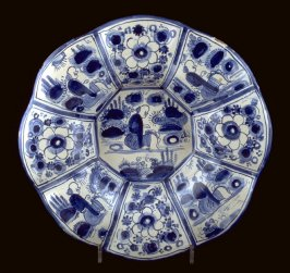 Dish, with octagonal