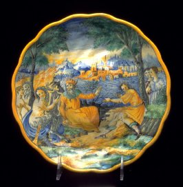 Footed plate (tazza)