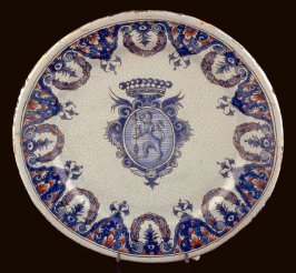 Old Rouen plate