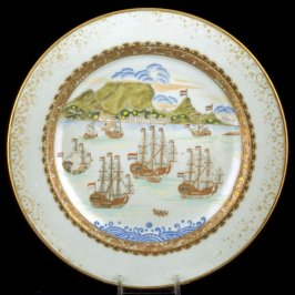 Plate with Cape of Good Hope