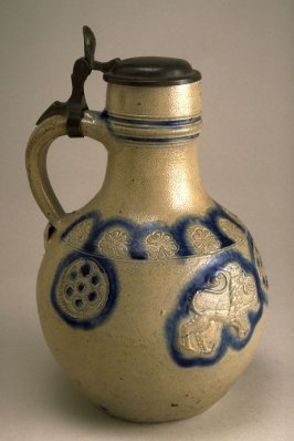 Jug with lid