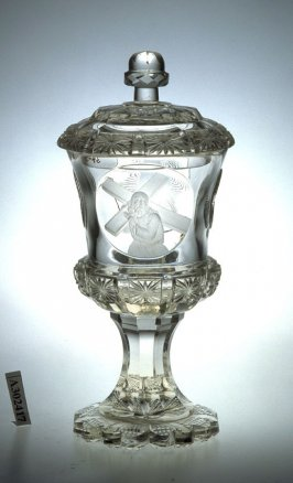 Goblet or chalice with lid