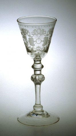 Goblet (with Dutch engrvaing)
