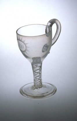 Glass with handle