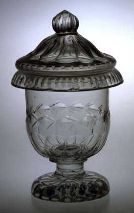 Pickle urn with lid