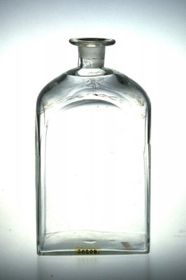 Case bottle with stopper