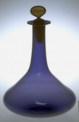 Decanter with stopper