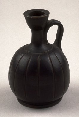 Black-Glaze Squat Lekythos