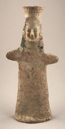 Standing draped female figure