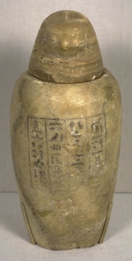Canopic Jar of Pef-hery-netjer