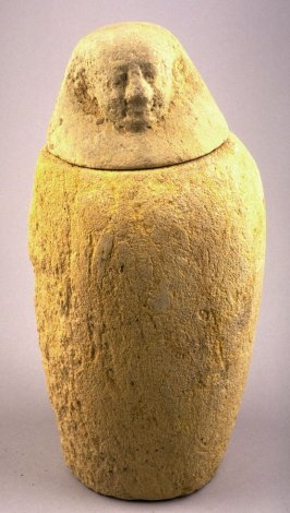 Canopic Jar and Lid