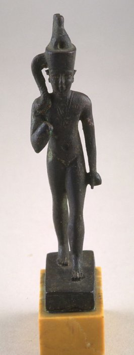Horus with the lock of youth