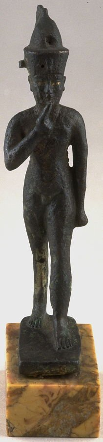 Statuette of Horus as a youth