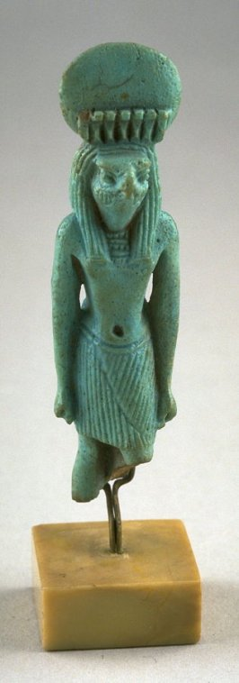 Statuette of Horus Ra, the sun god