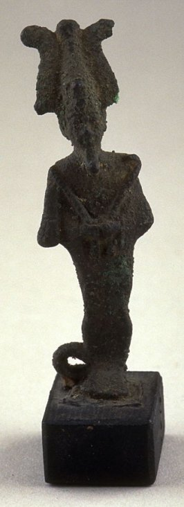Amulet - standing man with headdress