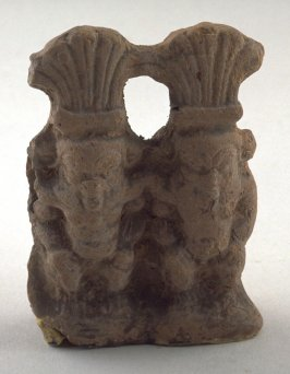 Statuette of Bes, god of the Sudan (double figure)