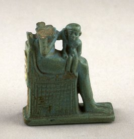 Fragment of a seated figure, probably the Goddess Isis