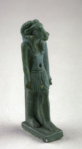 Khnemu standing figure with ram head