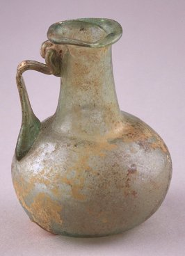Small green ewer