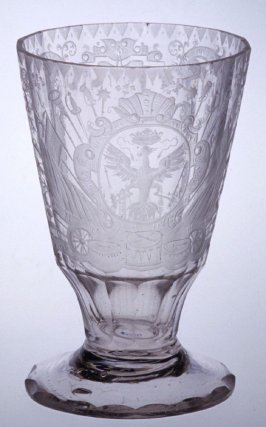 Footed tumbler