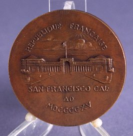 Panama Pacific International Exposition medal