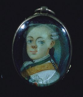 Portrait of son of Frederick the Great