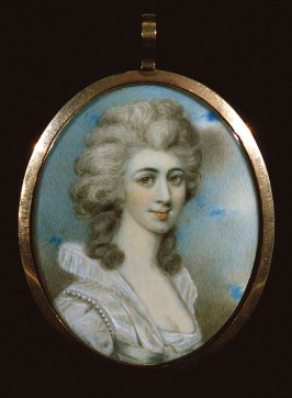 Miniature Portrait of woman