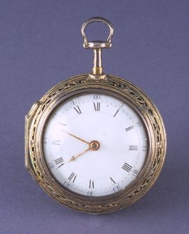 "Watch ""presented to Lafayette by Ben Franklin"""