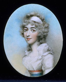 Portrait of a French woman