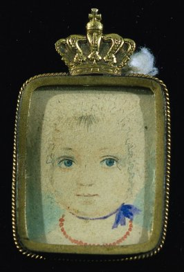 Portrait of a child (Princess Victoria, daughter of Queen Victoria?)