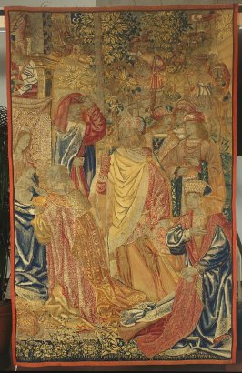 Adoration of the Magi (fragment from a Redemption panel?)