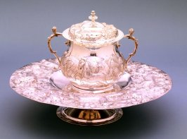 Covered Porringer with Stand