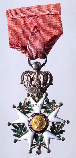 Badge of Honor with red ribbon