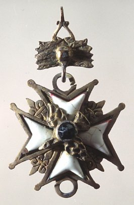 Imitation badge - star shaped