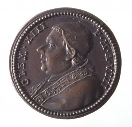 Pope Clement XIII medal