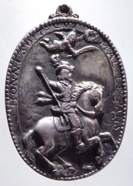 Medal: man on horseback