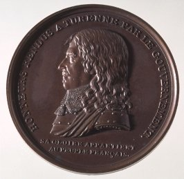 A Turenne medal with Napoleon