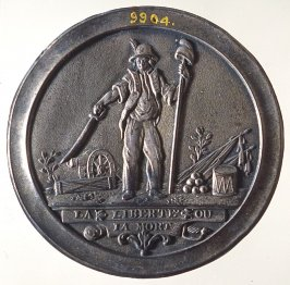 First Republic, Liberty or Death medal
